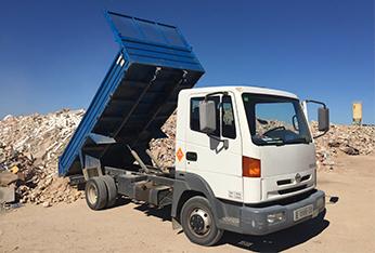 camió amb runa